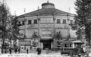 La chauve-souris de Paris - Le cirque d'Hiver